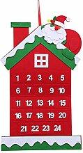 24 Tage Weihnachten Adventskalender, Hängen