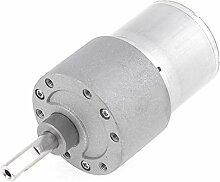 24VDC 120RPM 2Terminals Speed Reduzierstück Elektrische Geared Motor