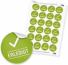 24 x itenga Hinweis Aufkleber Sticker