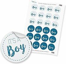 """24 x itenga Sticker Aufkleber Etikett """"It's"""