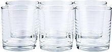24 x Trinkglas/Saftglas / Wasserglas/Limoglas /