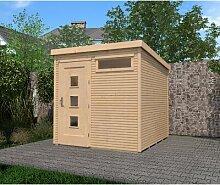 244 cm x 244 cm Gartenhaus