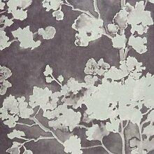 24979132–Yellowstone grau mit Blumenmuster