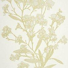 24987130–Yellowstone grün floral casadeco