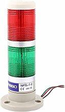 24V DC Industriell Rot Grün Beige Farbe Signal