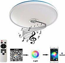 24W Bluetooth Deckenleuchte Lautsprecher Lampe mit