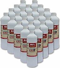 24x 1 Liter Brenngel 96,6% Ethanol für Gelkamine für Chafing