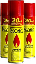 24x 270ml Universal Feuerzeuggas Rsonic Feuerzeug