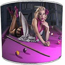 25,4cm Tabelle billiard, pool, snooker, 8 ball Childrens Lampenschirme 14