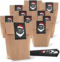 25 braun natur Weihnachtstüte Verpackung