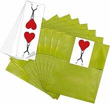 25 grüne Geschenktüten Papiertüten für