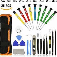 25 in 1 Reparatur Werkzeuge Schraubendreher Kit für iPhone iPad iPod Andere Handys und Geräte-DIY Werkzeug