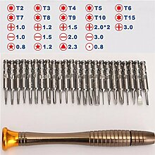 25-in-1 Torx Schraubendreher Set Handy Reparatur