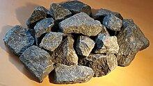 25 kg Deutsche Aufguss Saunasteine Basalt 5 - 8 cm - Sauna Steine - LIEFERUNG KOSTENLOS