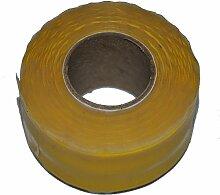 25mm x 3Meter Gelb Selbstverschweißendes Klebeband