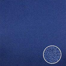25 Nadelfilz Teppichfliese 40x40cm selbstklebend = 4m² Teppichfliesen Teppich Farbauswahl (Blau)