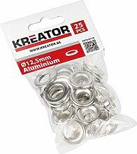 25 Stück Aluminium Ösen 12,5 mm KRT616110