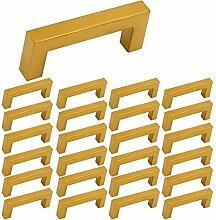 25 Stück Goldenwarm Kommoden Griff Rustikale