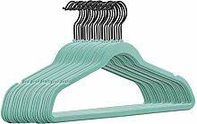 25 Stück hochwertige Samt Kleiderbügel in der