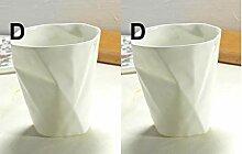 250 ml, Plain White Bone Chian Kaffeetasse,