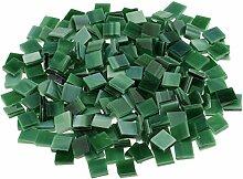250 Stück Fliesen Mosaik Mosaikfliese Quadrat Bad