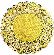 250 Stück Runde Goldfolie Metallic-Papier