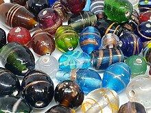 250g Glasperlen Mix Indian Glas Perlen Beads