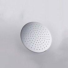 25cm Durchmesser Kupfer Runde große Panel Dusche