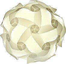 25cm Puzzle Lampe Schirm Jigsaw Puzzlelampe