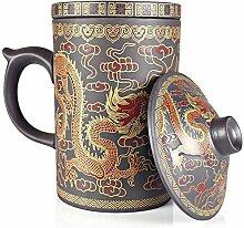 25dol Yixing lila Ton Teekanne Sets und