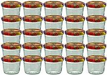 25er Set Sturzglas 230 ml Marmeladenglas