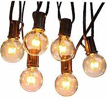 25ft Weihnachten Vorhang Schnur-Licht-LED