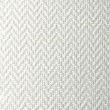 25m² Glasfasertapete Glasfasergewebe Zigzag