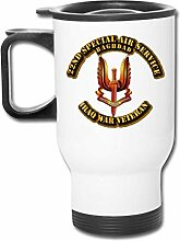 25ND Special Air Service Edelstahl Travel Cup