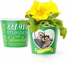 26. Hochzeitstag Geschenk – Blumentopf (ø16cm)