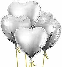 26 Zoll Herzform Folie Mylar Helium Ballon