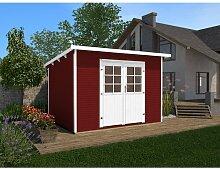 260 cm x 277 cm Gartenhaus Weka