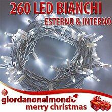260Mini-Lichterkette Weihnachten LED weiße