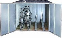 262 cm x 183 cm Fahrradgarage aus Metall WFX
