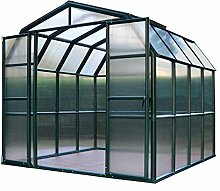 267 cm x 264 cm Gartenhaus Grand Gardener 44