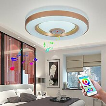 26W LED Deckenleuchte Integriertem Bluetooth Musik