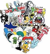 27 / bag Cartoon Tide Marke Aufkleber reisen