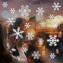 27 teile/los Weihnachten Schneeflocke Fenster