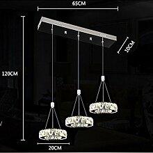 27W 3-Ringe LED Pendelleuchte Modern Luxus