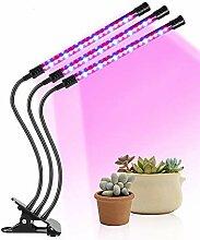 27W Plant Grow Light, 54 LED Plant Grow-Lampe mit