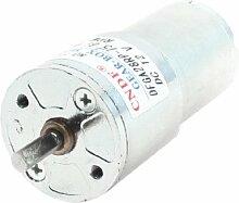 28mm Durchmesser Grill Elektronische Teile Geared Motor 50RPM 12VDC