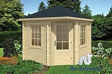 28 mm Gartenhaus Daniel ca. 260x260 cm