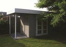28 mm Gartenhaus Mittelmodern ca. 500x200 cm