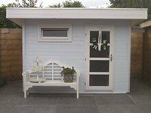 28 mm Gartenhaus Ultramodern ca. 320x260 cm
