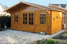 28 mm Gartenhaus Viggo ca. 500x380 cm (unbehandelt)